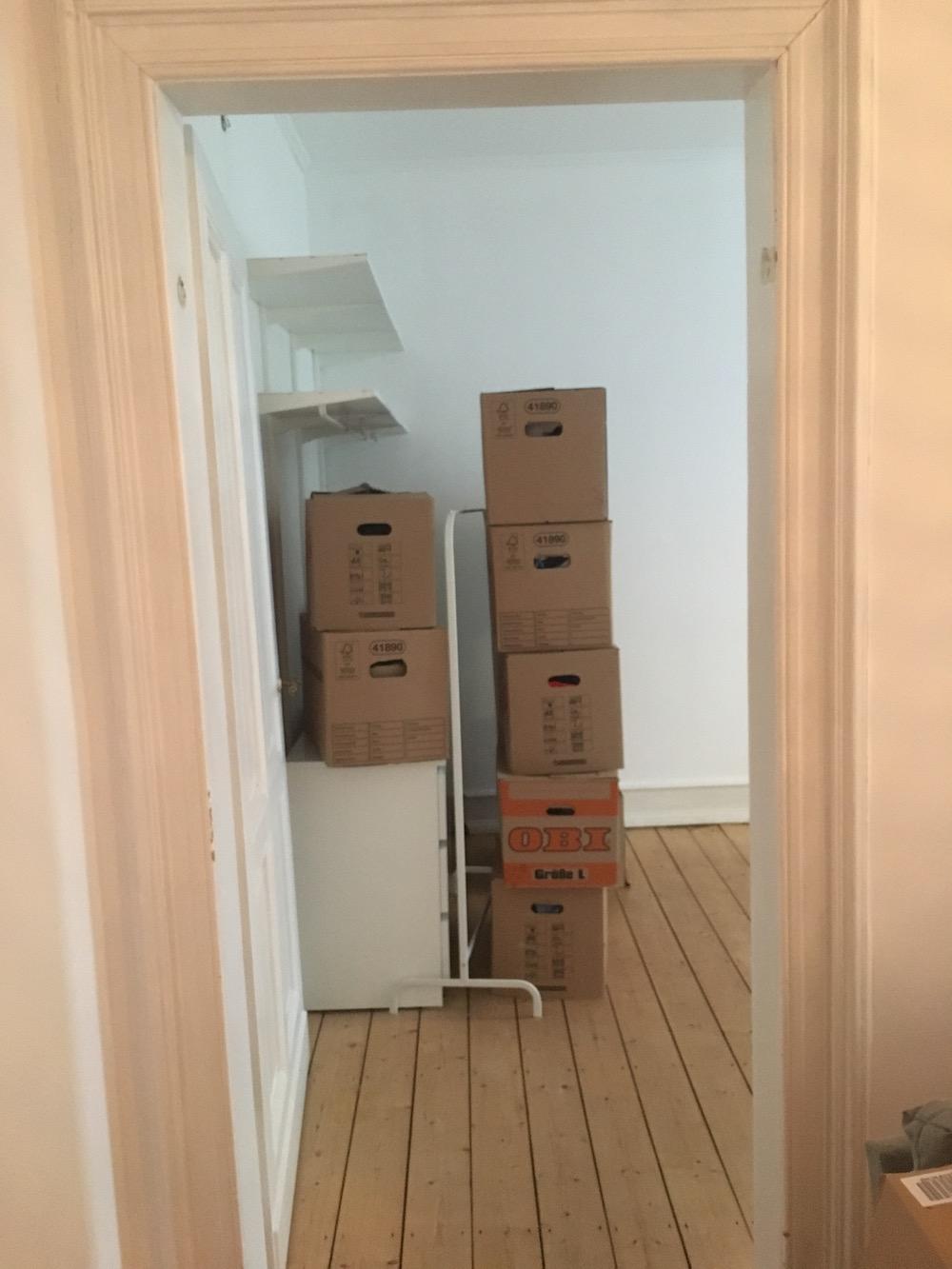 Umzug in eine Altbau Wohnung