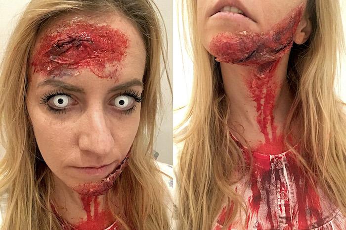 DIY Zombie Make Up