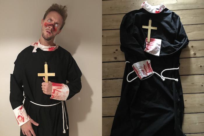 Dämon Priester Kostüm selber machen