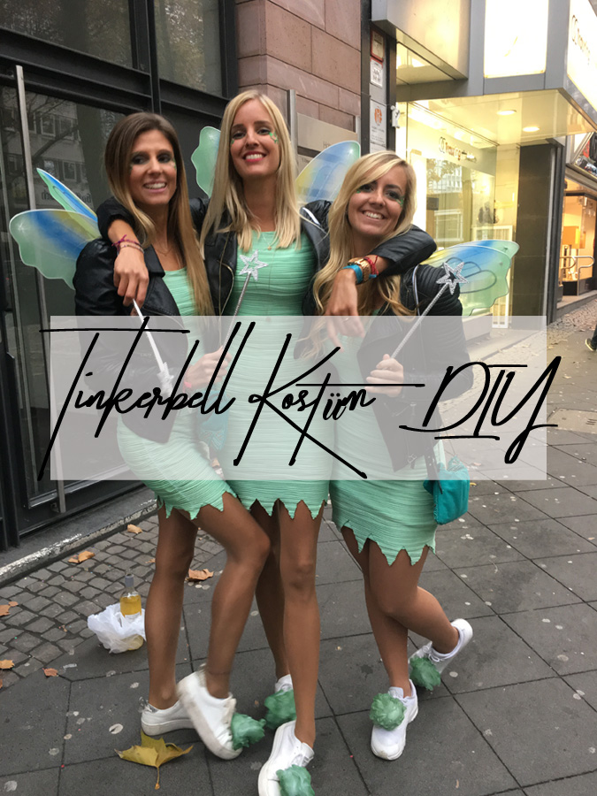 Karneval DIY – Tinkerbell Kostüm selber machen