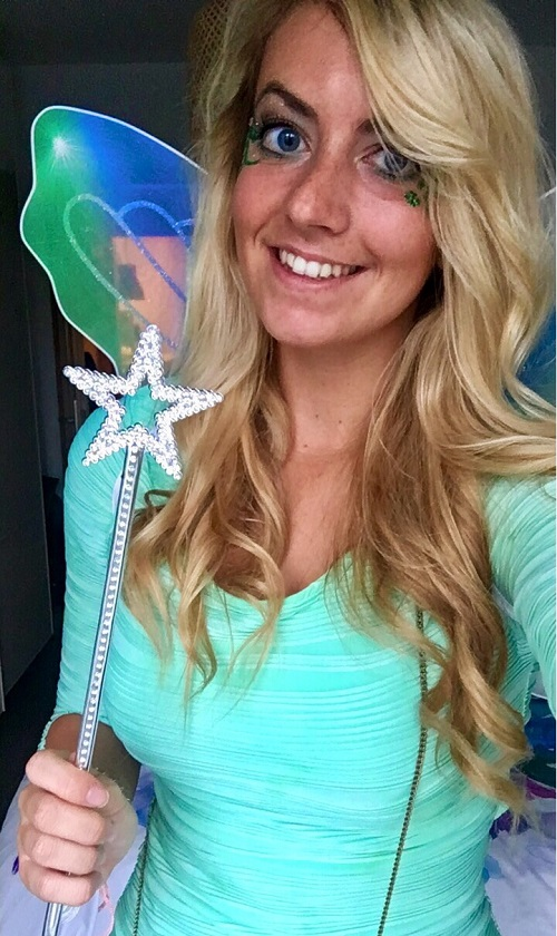 Tinkerbell Kostüm DIY