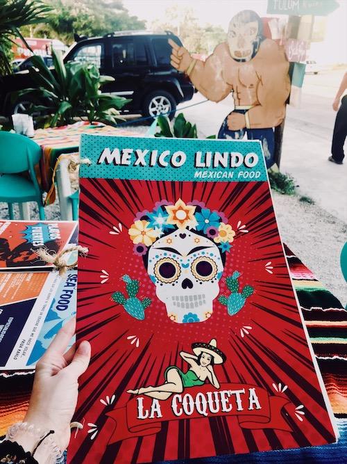 La Coqueta Restaurant in Tulum, Mexiko