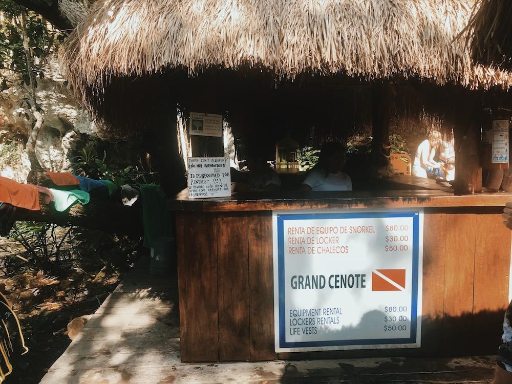 Gran Cenote in Tulum, Mexiko