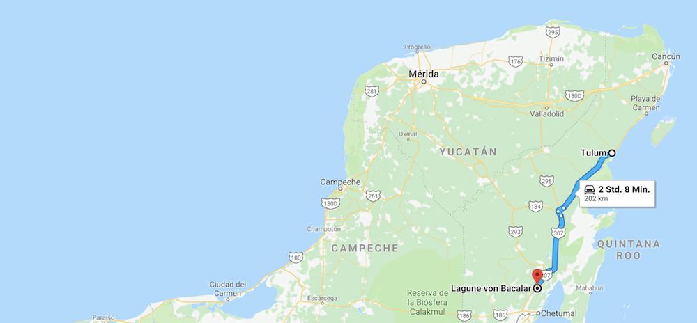 Bacalar Lagune Reisebericht Mexiko