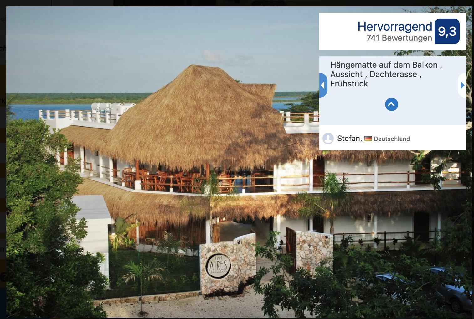 Hotel Bacalar Mexiko