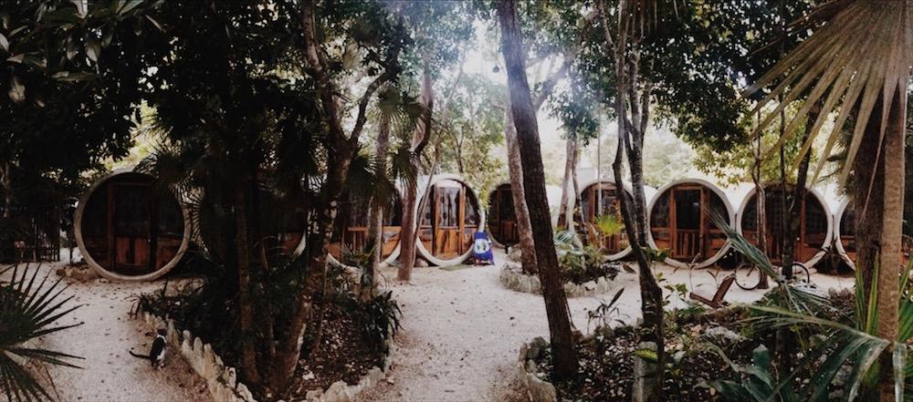 Tubo Hostel in Tulum, Mexiko