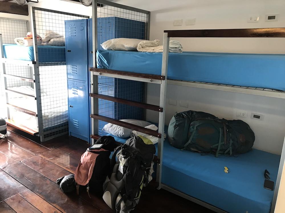 Hostel direkt an der Lagune Bacalar