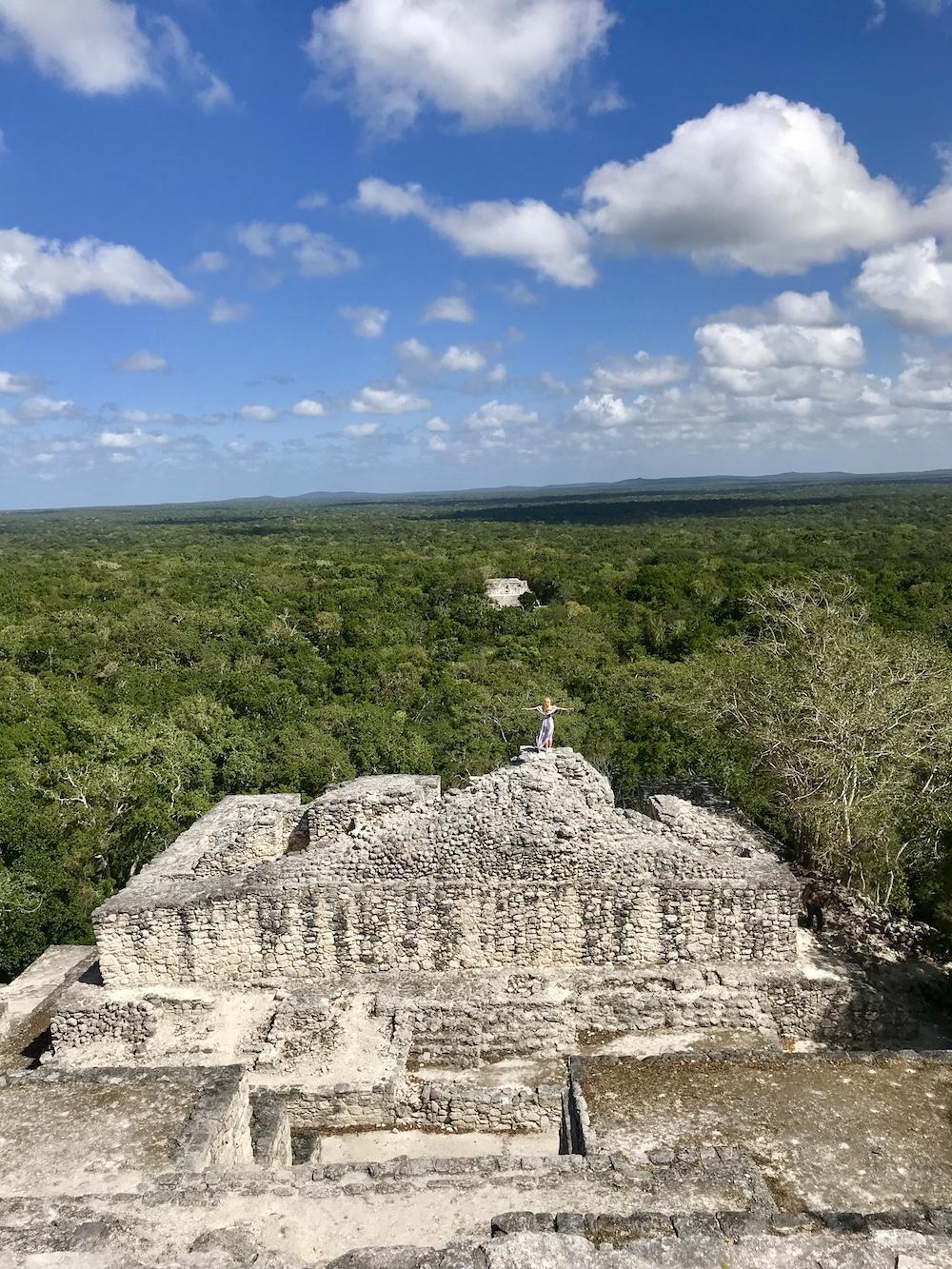 CalakmuL Maya Ruine
