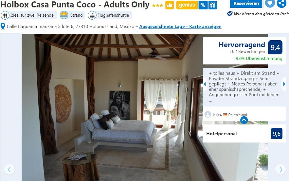 Holbox Casa Punta Coco