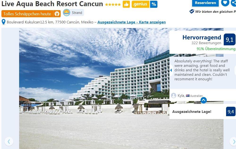 Live Aqua Hotel Cancun