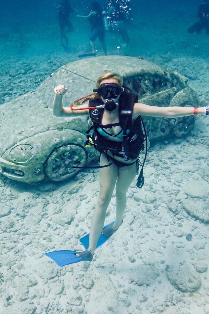 Cancun Insider Tipps – Tauchen in Mexiko, MUSA Unterwasser Museum