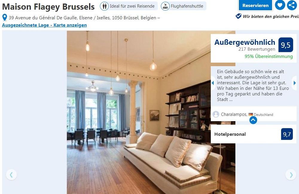 Maison Flagey Brussels