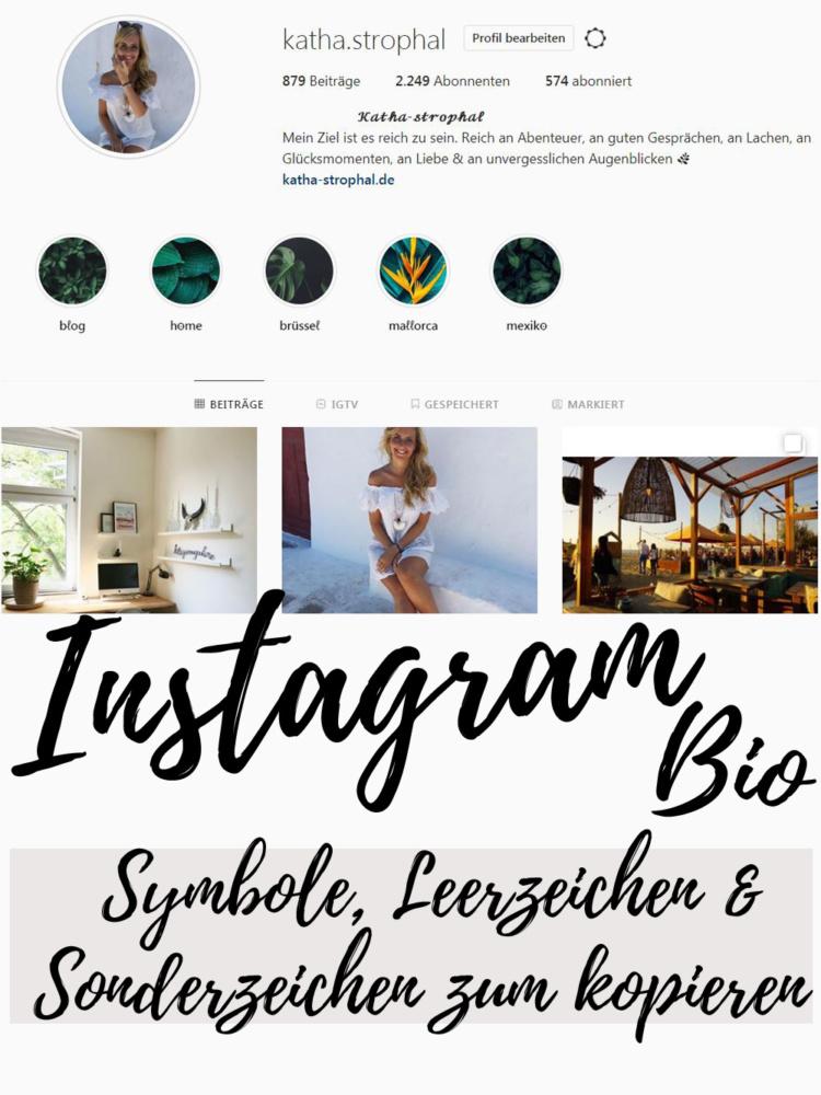 Instagram Biografie So Schreibst Du Den Perfekten 8 4