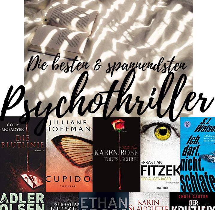 Die besten Psychothriller Bücher aller Zeiten – Thriller Buch Empfehlungen