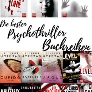 Psychothriller Buchreihen
