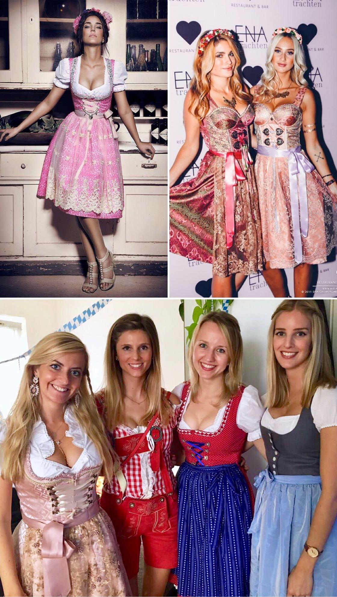 Die Schönsten Dirndl Trends Für Das Oktoberfest 2018 Looks Outfits