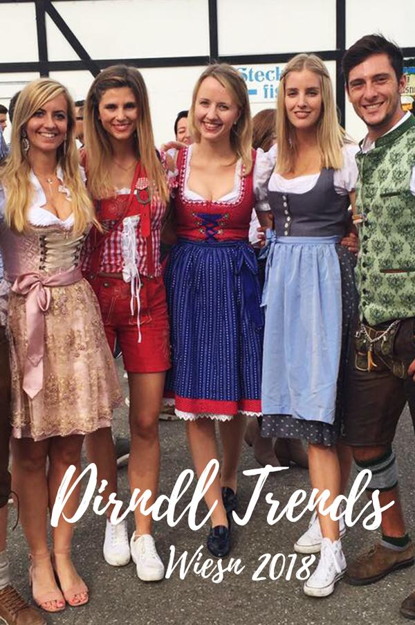 Die schönsten Dirndl Trends für das Oktoberfest 2018! Looks & Outfits