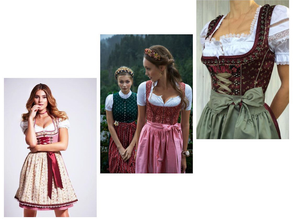 beautiful Dirndl 2018