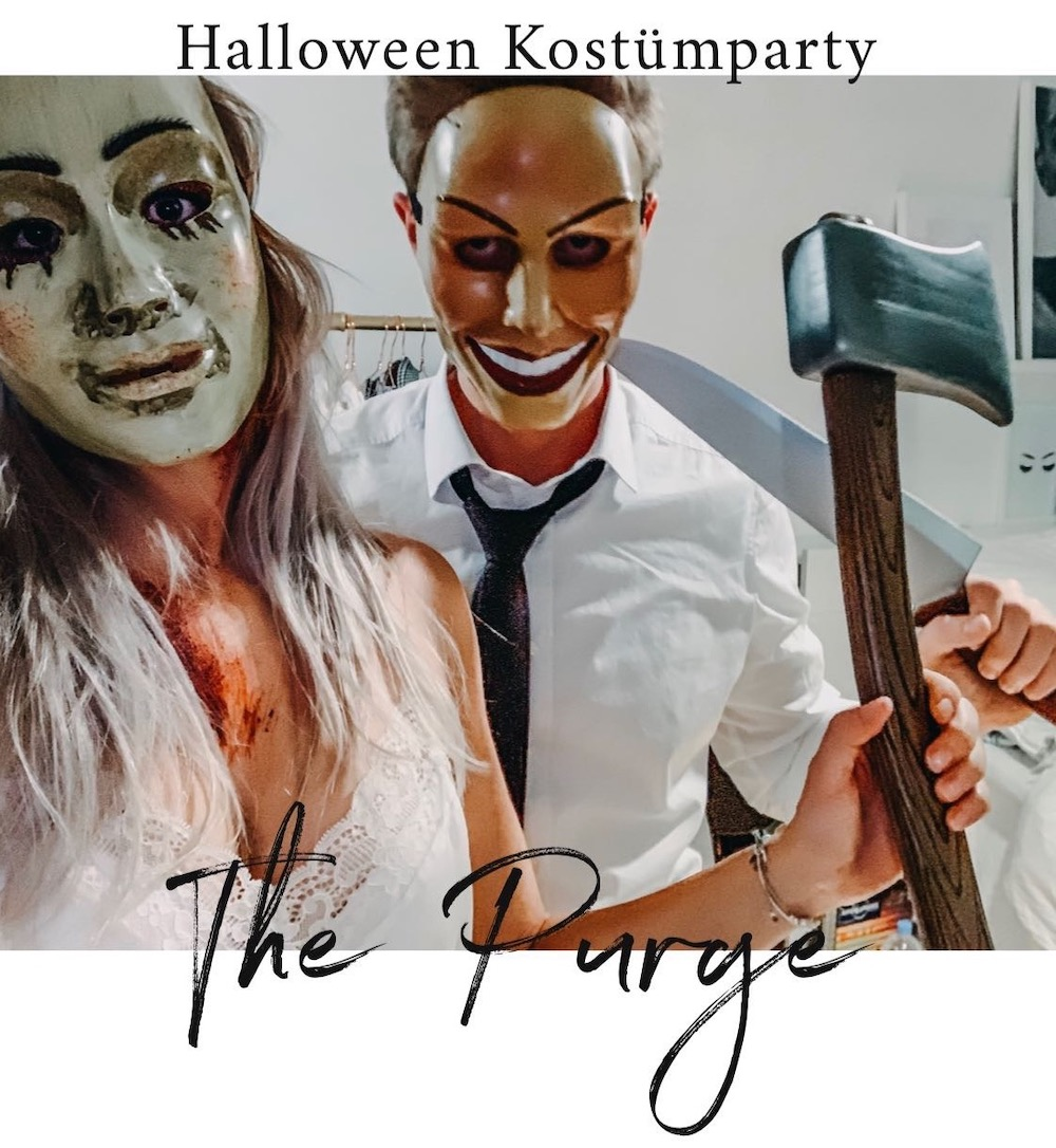 Diy The Purge Halloween Party Mottoparty Gruppenkostum Ideen