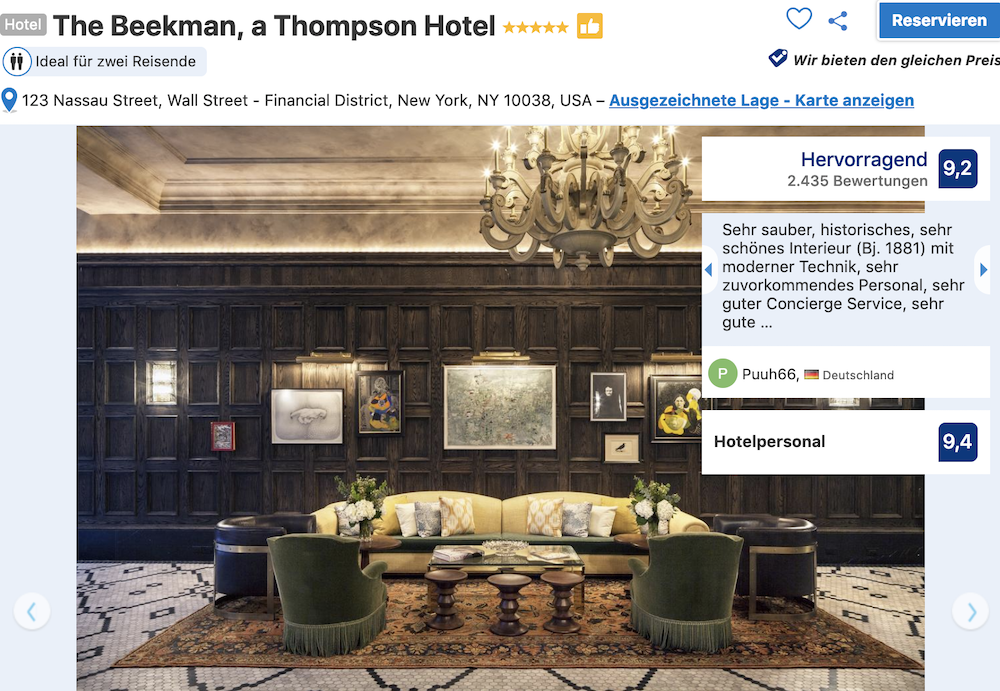 New York The Beekman, a Thompson Hotel