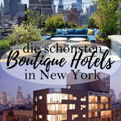 Die schönsten Boutique Hotels in New York