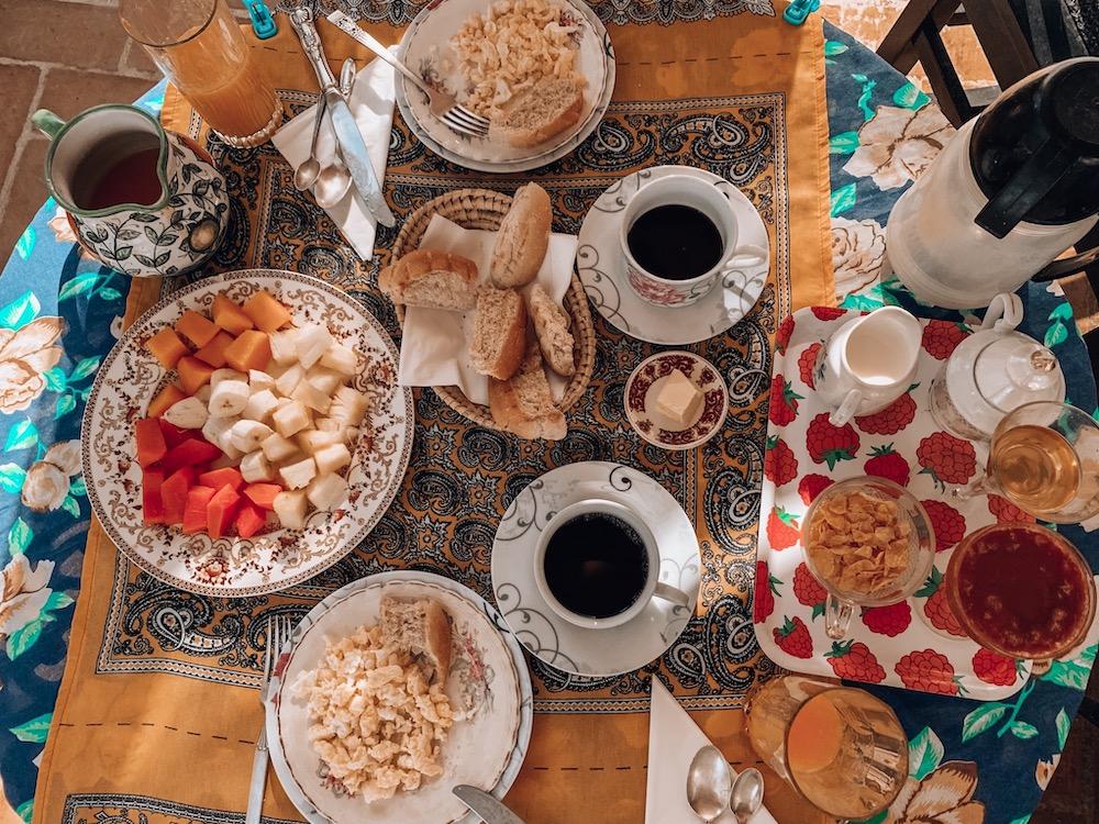 Frühstück Casa Particulares Havanna
