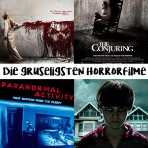 die gruseligsten Horrorfilme Halloween