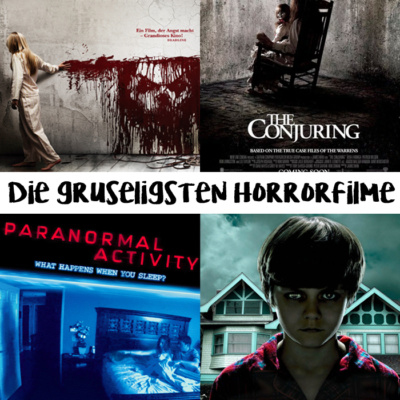 Die gruseligsten Horrorfilme aller Zeiten! Die besten Filme für Halloween