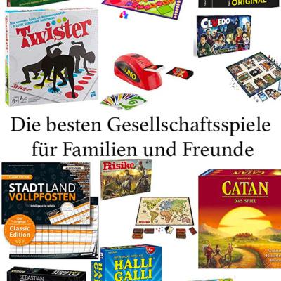 Die besten Gesellschaftsspiele für Familien und Freunde