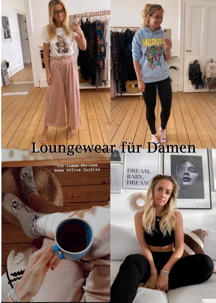 Loungewear für Damen - Pyjamas (Asos, H&M)