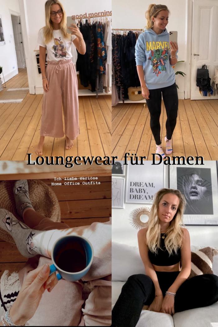 Loungewear für Damen – Pyjamas, Jogginghosen, Bademäntel (Asos, H&M)